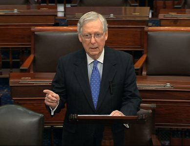 Trump Impeachment: Mitch McConnell Speaks on the Senate Floor