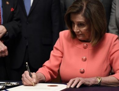 Pelosi and House Democrats Were Grotesquely Upbeat While Signing Articles of Impeachment